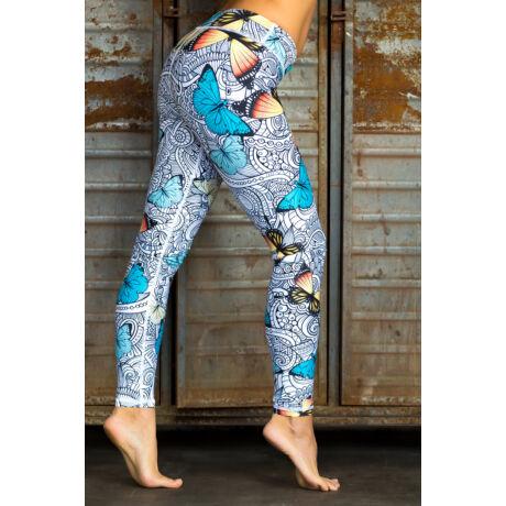 Nicci Butterfly hosszú leggings