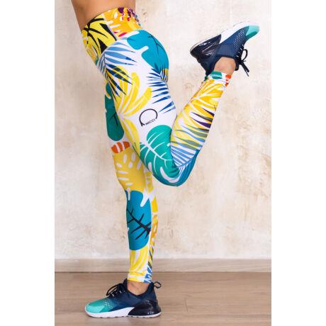 Nicci Tropic hosszú leggings